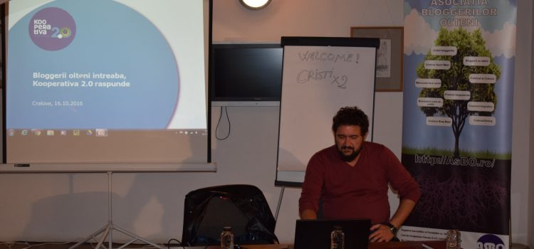 Cursul de blogging – susținut de Kooperativa 2.0