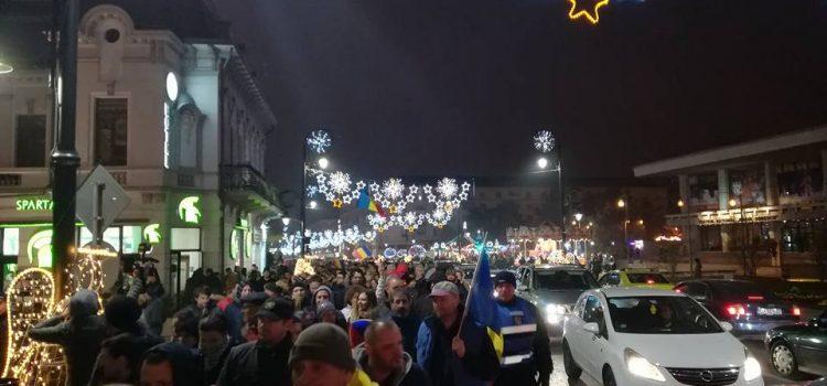 Val de proteste în tată țara – peste 45.000 de oameni pe străzile din marile orașe