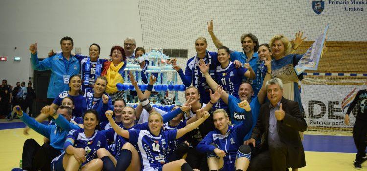 SCM Craiova scrie istorie pentru handbalul românesc