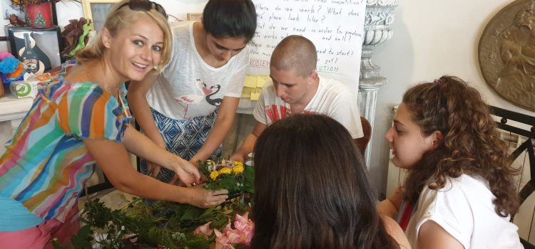 Small business with flowers – a chance for disadvantaged