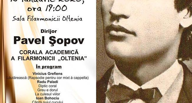 Ziua culturii Naționale – Concert la Filarmonica Oltenia