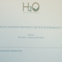 H2O – Helping To Obtain Water inaugurarea