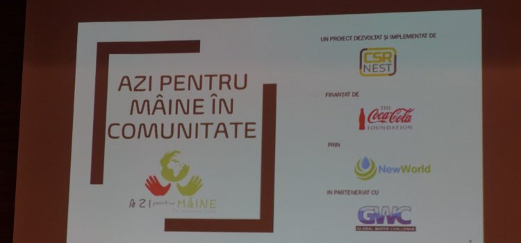 Azi pentru Mâine în Comunitate o inițiativă a CSR Nest și Coca-Cola